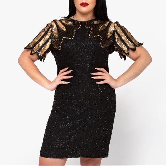 D'Albert Dresses & Skirts - Vintage Sequin Cocktail Dress